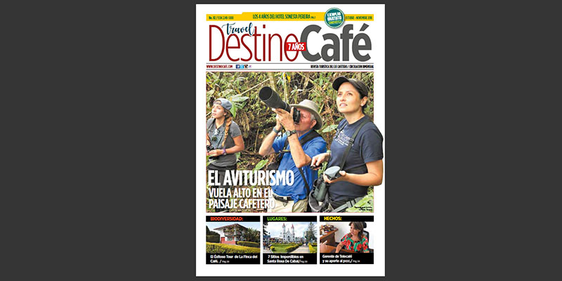 Aviturism flies high in the Coffee Cultural Landscape